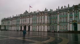 Hermitage am letzten Tag im Regen