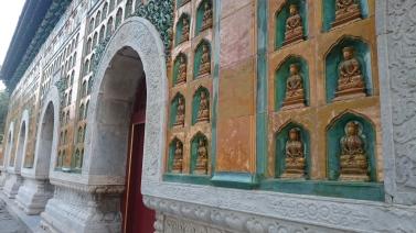Buddha architecture everywhere