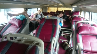 The sleeping buses on the way to Mui Ne