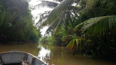 Mekong Delta in south Vietnam
